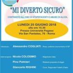 Mi Diverto Sicuro - Lunedi 25 / 06 / 18