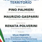Evento Identita' Politica e Territorio.