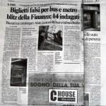 Il Messaggero - Biglietti falsi per Bus e Metro, bliz della GdF