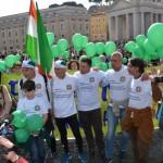 Maratona per i marò, a San Pietro iniziativa di solidarietà per Latorre e Girone.