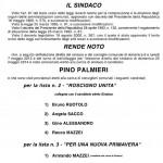 Roscigno: Pino Palmieri è il nuovo sindaco
